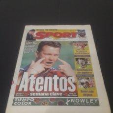 Coleccionismo deportivo: SPORT N° 6514. 15 DE DICIEMBRE 1997.. Lote 261634510