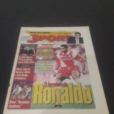 Coleccionismo deportivo: SPORT N° 6364. 18 DE JULIO 1997.. Lote 261635165