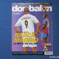 Coleccionismo deportivo: DON BALÓN N.º 1518 - 2004 NO INCLUYE PÓSTER CENTRAL. Lote 261673185