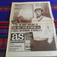 Coleccionismo deportivo: AS Nº 5082. 8-2-84. REAL MADRID, CASTILLA, BUTRAGUEÑO, ARAQUISTAIN, FORD FIESTA, CARL LEWIS.. Lote 261674250