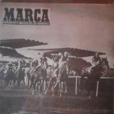 Coleccionismo deportivo: MARCA SUPLEMENTO GRÁFICO DE LOS DEPORTES NÚMERO 795. 25 DE FEBRERO DE 1958. Lote 261997415