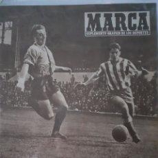 Coleccionismo deportivo: MARCA SUPLEMENTO GRÁFICO DE LOS DEPORTES NÚMERO 796. 4 DE MARZO DE 1958. Lote 261997845