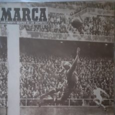 Coleccionismo deportivo: MARCA SUPLEMENTO GRÁFICO DE LOS DEPORTES NÚMERO 797. 11 DE MARZO DE 1958. Lote 261998275