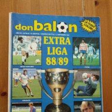 Coleccionismo deportivo: DON BALON EXTRA Nº 16 REVISTA DEPORTIVA FUTBOL ESPECIAL EXTRA LIGA 88 - 89 1988 1989. Lote 262003640
