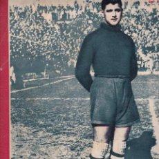 Coleccionismo deportivo: MARCA 1945 BUSTOS DEL SEVILLA GIJÓN Y OVIEDO EMPATAN EN EL MOLINÓN 2-1 CASTELLÓN VENCE AL SANTANDER. Lote 262060755