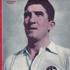 Coleccionismo deportivo: MARCA Nº 99 1944 JUAN RAMÓN VALENCIA 5-1 EL GRANADA VENCE AL OVIEDO. Lote 262061725
