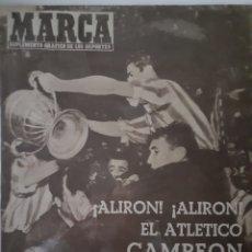 Colecionismo desportivo: MARCA SUPLEMENTO GRÁFICO DE LOS DEPORTES NÚMERO 813. FECHA 1 DE JULIO DE 1958. Lote 262073285