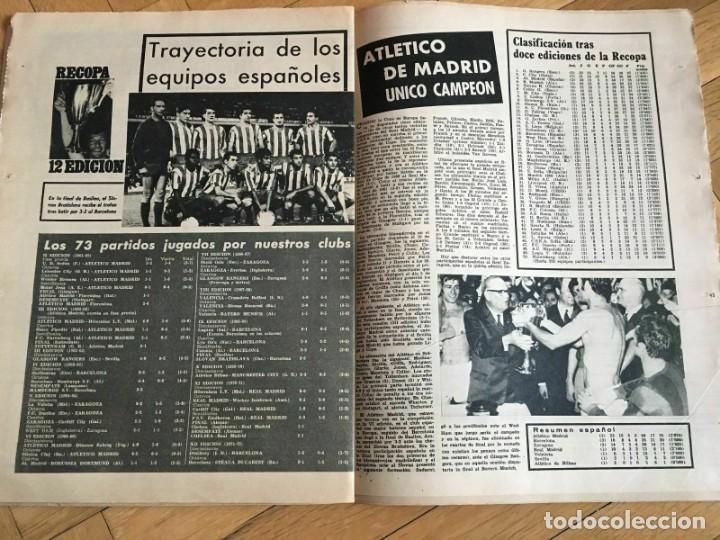 Coleccionismo deportivo: MUNDO DEPORTIVO (22-5-72) RECOPA EUROPA FINAL GLASGOW RANGERS DINAMO MOSKVA MOSCU - Foto 5 - 262170915