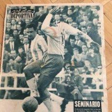 Coleccionismo deportivo: VIDA DEPORTIVA (20-11-61) ESPANYOL 5-2 BIRMINGHAM BARCELONA BENFICA 1961. Lote 262171980