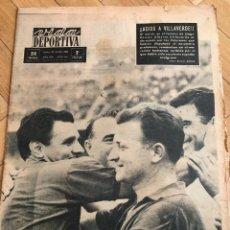 Coleccionismo deportivo: VIDA DEPORTIVA (28-10-1963) INGLATERRA RESTO DEL MUNDO WEMBLEY NORTHERN IRELAND. Lote 262173140