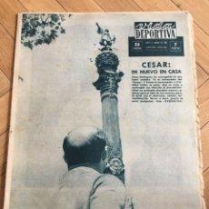 Coleccionismo deportivo: VIDA DEPORTIVA (5-6-1963) REAL MADRID TSSKA MOSKVA CAMPEON DE EUROPA BALONCESTO. Lote 262173335