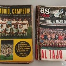 Coleccionismo deportivo: LIQUIDACION CHOLLO!! LOTE DE 51 REVISTAS AS COLOR AÑOS 70. Lote 262270595