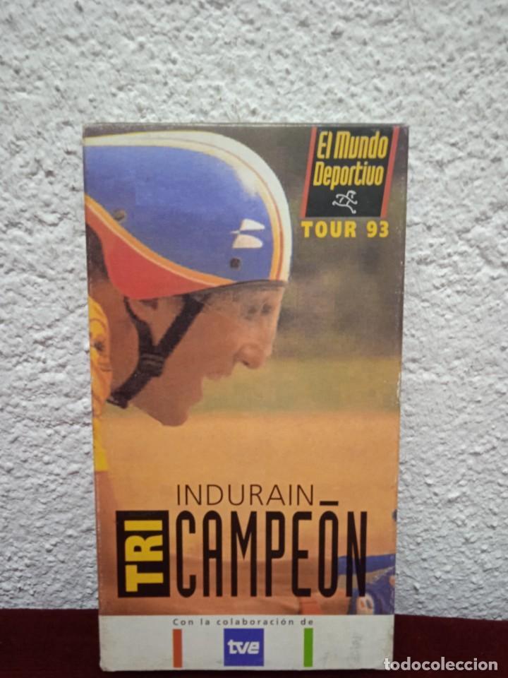 INDURAIN. TRI CAMPEÓN. TOUR 93 (Coleccionismo Deportivo - Revistas y Periódicos - Mundo Deportivo)