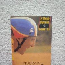Coleccionismo deportivo: INDURAIN. TRI CAMPEÓN. TOUR 93. Lote 262576705