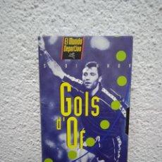 Coleccionismo deportivo: STOICHHOV. GOLS D' OR. Lote 262576945