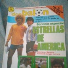 Coleccionismo deportivo: DON BALÓN Nº 614 (7/87). VALDERRAMA, MARADONA, FRANCESCOLI, CANIGGIA, CONTRERAS. Lote 262567200