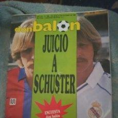 Coleccionismo deportivo: DON BALÓN 680 - POSTER ELCHE - SCHUSTER - ATHLETIC - ESPAÑA - PASSARELLA - EIBAR - CHILAVERT. Lote 262567425