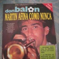 Coleccionismo deportivo: DON BALON Nº 683 1988 COLOR UEFA REAL SOCIEDAD VS SPORTING LISBOA ATHLETIC BILBAO VS JUVENTUS REAL. Lote 262732840