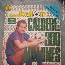 Coleccionismo deportivo: REVISTA FÚTBOL DON BALÓN Nº 604 MAYO 1987 PAGINAS CENTRALES PLAY-OFF. Lote 262736145