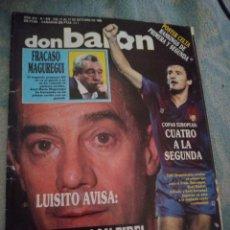 Coleccionismo deportivo: DON BALON Nº 678 POSTER RC CELTA DE VIGO 88/89 LIGA 1988/1989 LUIS SUAREZ - MAGUREGUI. Lote 262736710