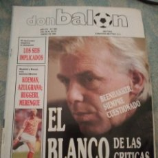 Coleccionismo deportivo: DON BALÓN 693 - ELCHE - FUTRE - VALENCIA - MADRID - BRASIL - ESPAÑA KOEMAN ABLANEDO SPORTING. Lote 262738015