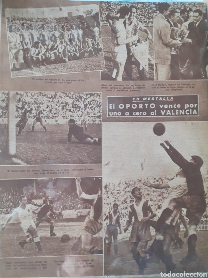 Coleccionismo deportivo: MARCA Semanario gráfico deportivo número 255 fecha 21 octubre de 1947 - Foto 2 - 263018725