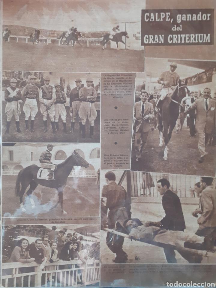 Coleccionismo deportivo: MARCA Semanario gráfico deportivo número 256 fecha 28 de octubre de 1947 - Foto 2 - 263018940