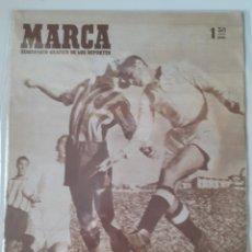 Coleccionismo deportivo: MARCA SEMANARIO GRÁFICO DEPORTIVO NÚMERO 259 FECHA 25 DE NOVIEMBRE DE 1947. Lote 263019340