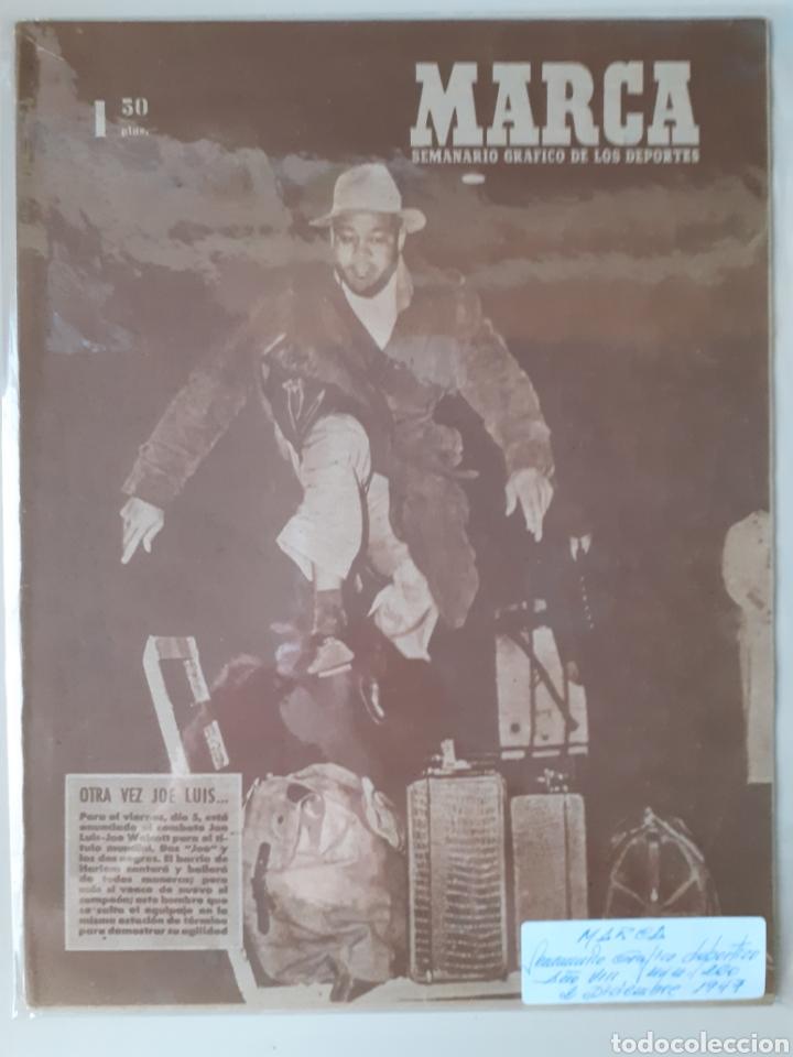 MARCA SEMANARIO GRÁFICO DEPORTIVO NÚMERO 260 FECHA 2 DE DICIEMBRE DE 1947 (Coleccionismo Deportivo - Revistas y Periódicos - Marca)