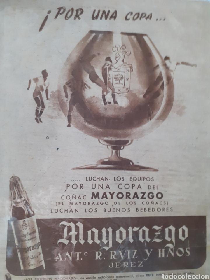 Coleccionismo deportivo: MARCA Semanario gráfico deportivo número 264 fecha 23 de diciembre de 1947 - Foto 2 - 263019930