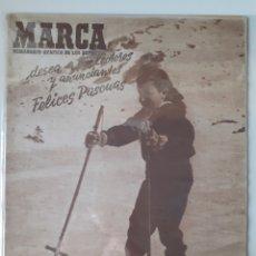 Coleccionismo deportivo: MARCA SEMANARIO GRÁFICO DEPORTIVO NÚMERO 264 FECHA 23 DE DICIEMBRE DE 1947. Lote 263019930