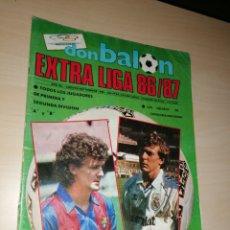 Coleccionismo deportivo: DON BALÓN - EXTRA LIGA 86/87. Lote 263020375