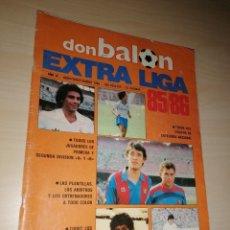 Coleccionismo deportivo: DON BALÓN - EXTRA LIGA 85/86. Lote 263020515