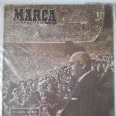Coleccionismo deportivo: MARCA SEMANARIO GRÁFICO DEPORTIVO NÚMERO 277 FECHA 23 MARZO DE 1948. Lote 263021015