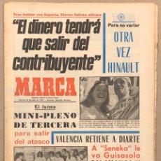 Coleccionismo deportivo: MARCA (20 JULIO Ñ 1979). HINAULT EN EL TOUR, LOBO DIARTE SE QUEDA EN VALENCIA, GUISASOLA,. Lote 263035960