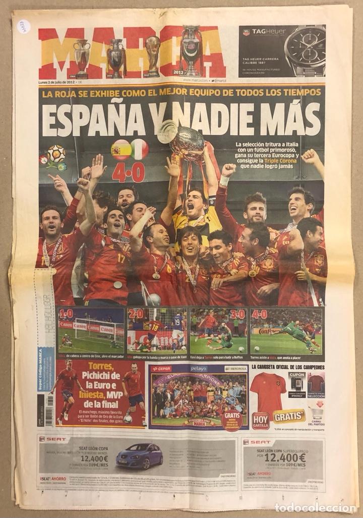 MARCA (2 JULIO 2012). ESPAÑA CAMPEÓN EUROCOPA 2012. NÚMERO ESPECIAL DE 64 PÁGINAS. (Coleccionismo Deportivo - Revistas y Periódicos - Marca)