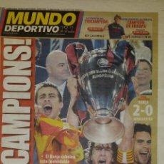 Coleccionismo deportivo: FINAL CHAMPIONS 2009 - FC BARCELONA & MANCHESTER UNITED. Lote 263100710
