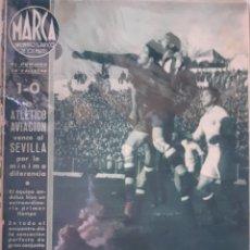 Coleccionismo deportivo: MARCA SEMANARIO GRÁFICO DEPORTIVO NÚMERO 11 FECHA 9 DE FEBRERO DE 1943. Lote 263151830