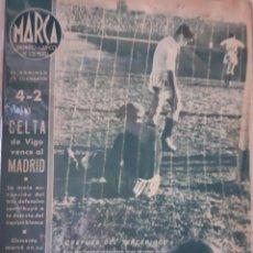 Coleccionismo deportivo: MARCA SEMANARIO GRÁFICO DEPORTIVO NÚMERO FECHA 16 DE FEBRERO DE 1943. Lote 263152055