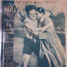 Coleccionismo deportivo: MARCA SEMANARIO GRÁFICO DEPORTIVO NÚMERO 15 FECHA 9 DE MARZO DE 1943. Lote 263152610