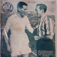 Coleccionismo deportivo: MARCA SEMANARIO GRÁFICO DEPORTIVO NÚMERO 18 FECHA 30 MARZO DE 1943. Lote 263153635