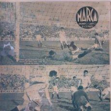 Coleccionismo deportivo: MARCA SEMANARIO GRÁFICO DEPORTIVO NÚMERO 27 FECHA 1 JUNIO DE 1943. Lote 263154165