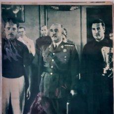 Coleccionismo deportivo: MARCA SEMANARIO GRÁFICO DEPORTIVO NÚMERO 37 FECHA 10 AGOSTO DE 1943. Lote 263154355