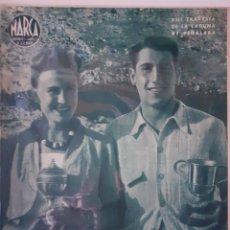 Coleccionismo deportivo: MARCA SEMANARIO GRÁFICO DEPORTIVO NÚMERO 38 FECHA 17 DE AGOSTO DE 1943. Lote 263154545