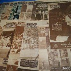 Coleccionismo deportivo: VIDA DEPORTIVA PRENSA ESPECIALIZADA EN FÚTBOL. DEL 10 DE ABRIL A 27 DE DCIEMBRE DE 1961. 22 NÚMER. Lote 263185570