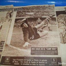 Coleccionismo deportivo: VIDA DEPORTIVA. PRENSA ESPECIALIZADA EN FÚTBOL. DEL 1 DE ENERO AL 2 DE JULIO DE 1962. 27 NÚMEROS.. Lote 263186760
