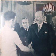 Coleccionismo deportivo: MARCA SEMANARIO GRÁFICO DEPORTIVO NÚMERO 39 FECHA 24 DE AGOSTO DE 1943. Lote 263200205
