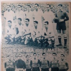Coleccionismo deportivo: MARCA SEMANARIO GRÁFICO DEPORTIVO NÚMERO 45 FECHA 5 OCTUBRE DE 1943. Lote 263200575