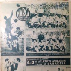 Coleccionismo deportivo: MARCA SEMANARIO GRÁFICO DEPORTIVO NÚMERO 46 FECHA 12 DE OCTUBRE DE 1943. Lote 263200770