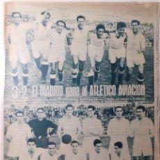Coleccionismo deportivo: MARCA SEMANARIO GRÁFICO DEPORTIVO NÚMERO 47 FECHA 19 DE OCTUBRE DE 1943. Lote 263200945
